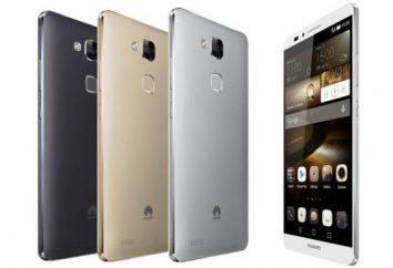 Companheiro Ascend Huawei 7. Revise e teste de smartphones