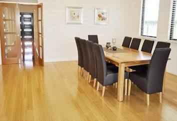 Le plancher de bambou: avantages, les inconvénients, caractéristiques de style, des conseils de soins, avis et commentaires