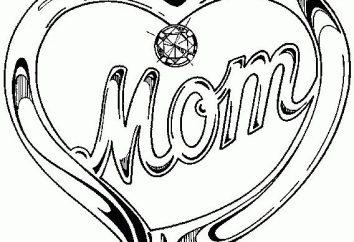 Rysunki dzieci na urodziny i wakacyjnych konkursach mama