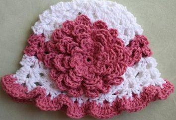 Delicato primavera ragazze della protezione del crochet: lo schema, foto