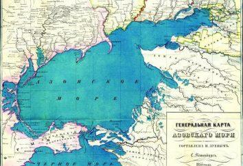 Mar de Azov: salinidade, profundidade. Características do Mar de Azov