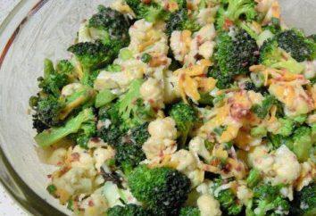 Brocoli et chou-fleur: recette, en particulier la cuisine et recommandations