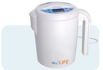 """ionizador de água """"Aqualife"""": comentários, viver e água morta"""