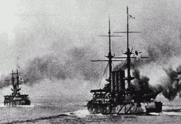 navio linear. Battleships da Marinha Imperial Russa
