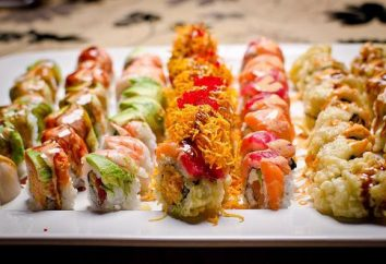 receta de sushi en casa. rollos de cocina casera
