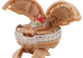 Spielzeug Bakugan: wie es wirkt sich auf die intellektuelle und logische Fähigkeiten Kleinkind