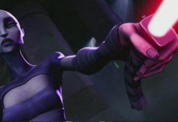 "Asajj Ventress – caráter ""Star Wars"""