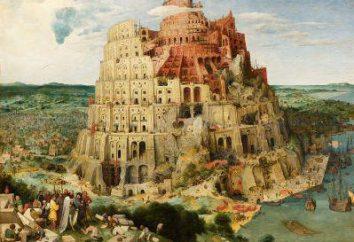 """Obraz """"Wieża Babel"""": opis"""