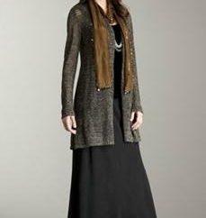 falda larga: lo que debe llevar en el invierno y cómo elegir un modelo?