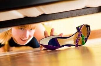 Wie Schuhe zu Hause zu verbreiten: ein paar einfache Tipps