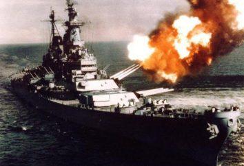 El acorazado más grande en el mundo. El mayor buque de guerra de la Segunda Guerra Mundial
