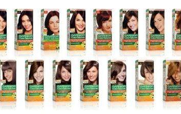 """Palette de couleurs de cheveux """"Garnier"""": un choix de perfection"""