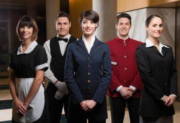 Trabalhar no hotel e no hotel: características, deveres e recomendações