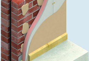 L'alignement des murs de plâtre sans cadres. Comme plaques de plâtre fixé à la paroi