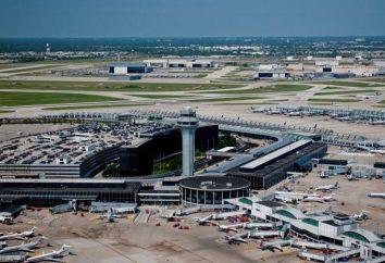 Aéroports Chicago: liste, description et commentaires