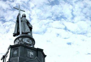 Monumento ao príncipe Vladimir em Kiev simboliza o batismo da Rus'