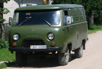 UAZ-452: Spécifications