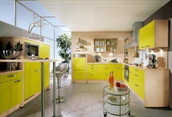 Żółta kuchnia – słoneczna wyspa w mieszkaniu