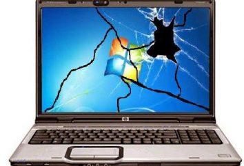 lampka zasilania jest włączony, komputer się nie włącza: przyczyny i usuwanie