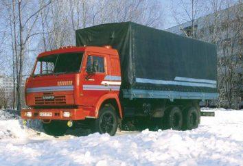 KAMAZ 53215 – niezawodny wół roboczy dla autostrad