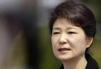 Presidente della Corea Park Geun-hye: biografia e foto