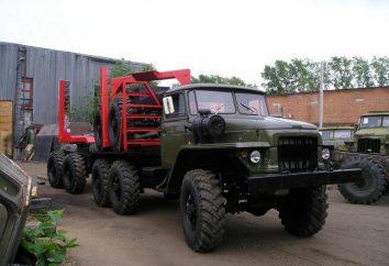 """Car """"Ural-375"""": le specifiche tecniche, la descrizione, il motore, i proprietari reali"""