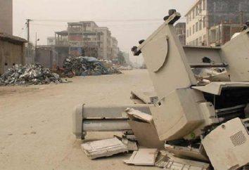 Triagem e reciclagem de resíduos como um negócio