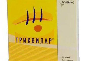 """El medicamento """"Trikvilar"""": opiniones, instrucciones"""