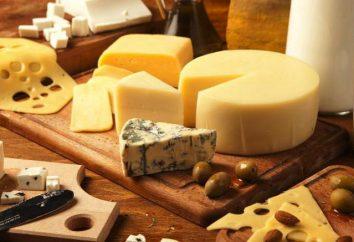 Calories fromage à pâte dure: calories table