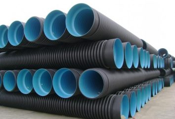 tubes ondulés: caractéristiques et les particularités