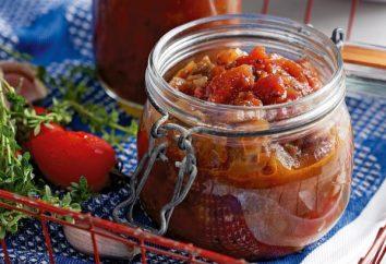 Berinjela com tomates para o inverno: a receita. Como se preparar para o inverno delicioso aperitivos de berinjela com tomates?