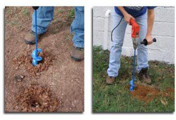 Como fazer o quintal broca com as mãos
