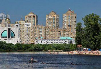 Wasserpark (Kiev): Beschreibung, Strände und Unterhaltung