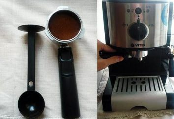 """Kaffeemaschine """"Vitek"""" (VITEK). Überprüfung der beliebten Modellen"""