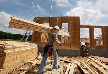 Costruire su tecnologia canadese o di costruzione di una casa di legno