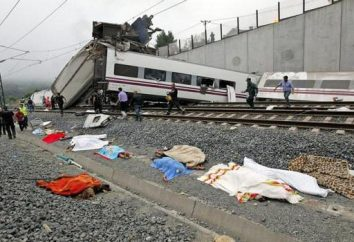 Grande w / une catastrophe en Espagne 24 Juillet, 2013