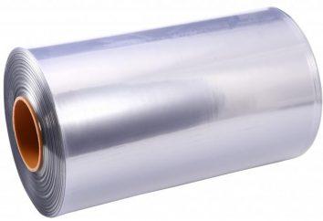 O que é filme de PVC e como ele é marcado