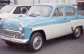 Moskvitch 402 – fifties minicar soviétiques