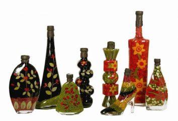 Bottiglie decorative – l'estetica della vita cucina