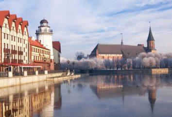 Cómo volar a Kaliningrado desde Moscú? Los medios de transporte y dificultades con los documentos