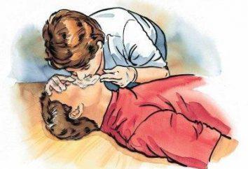 Sposoby sztucznemu oddychaniu: sekwencja działań. Cechy wykonać oddech ratowniczy u dzieci