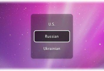 Come passare a caratteri English sulla tastiera con russo e viceversa