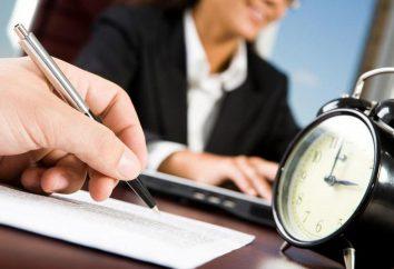 Suivi du temps lors de l'enregistrement de. enregistrement Résumé du temps de travail des conducteurs lors de la modification du calendrier. Les heures supplémentaires à l'enregistrement du temps de travail