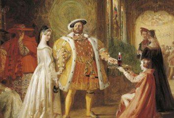 8 épouse de Henry Tudor, roi d'Angleterre: les noms, l'histoire et des faits intéressants