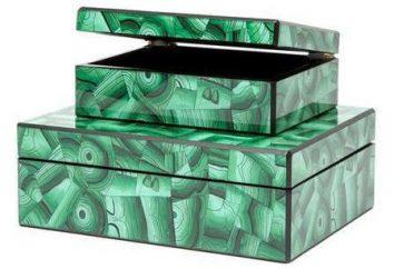 Box Malachite da argilla: una master class sulla produzione di oggetti artigianali originali