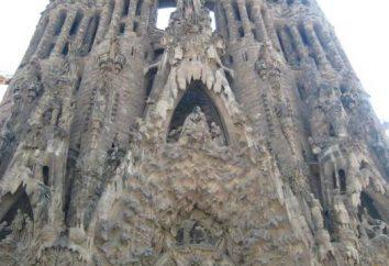 Sagrada Familia in Barcelona ist erstaunlich,