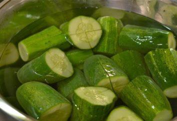 Come fare la serializzazione cetrioli salati in modi diversi