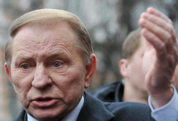 Presidente da Ucrânia Kuchma Leonid Danilovich. Biografia e família