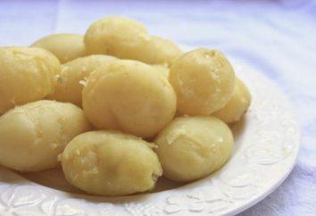 Lorsque les pommes de terre de sel quand la purée cuite?
