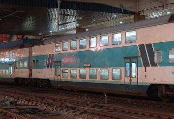 samochody piętrowych planuje wykorzystać na kolei Rosji od Tver Carriage Works